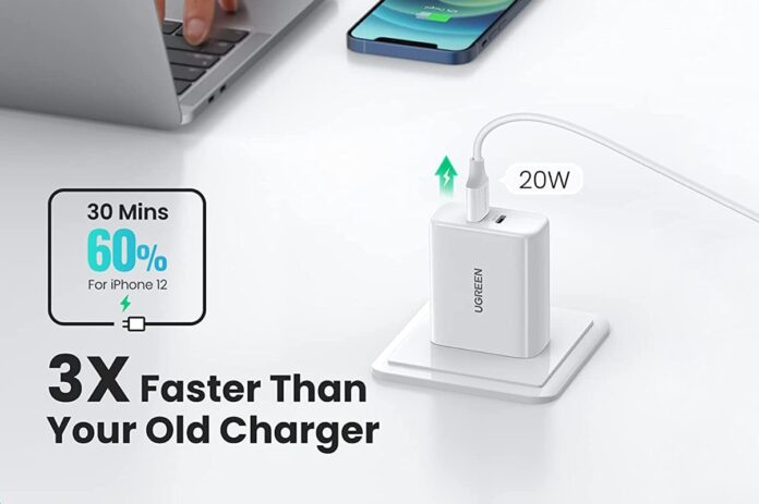 UGREEN 40W Dual USB C PD Fast Charger