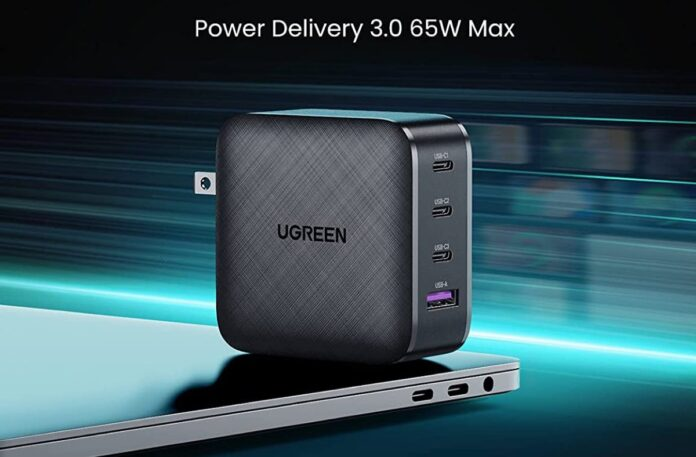 UGREEN 65W 4-Port PD Charger