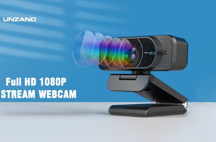 Unzano 1080P Auto-Focus Webcam