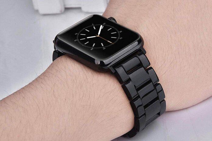 V-MORO Resin Apple Watch Strap