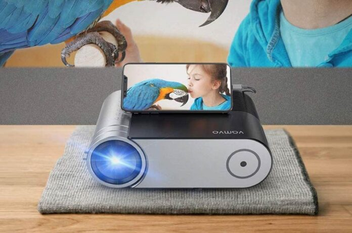 Vamvo L4200 Portable Video Projector