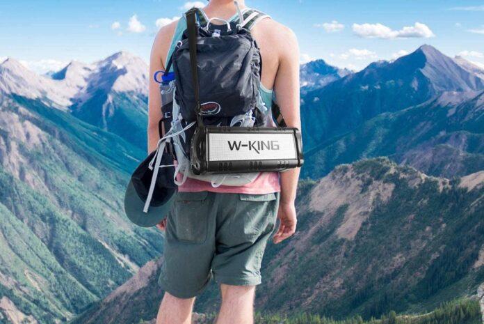 W-King 0W(70W Peak) Bluetooth Speakers