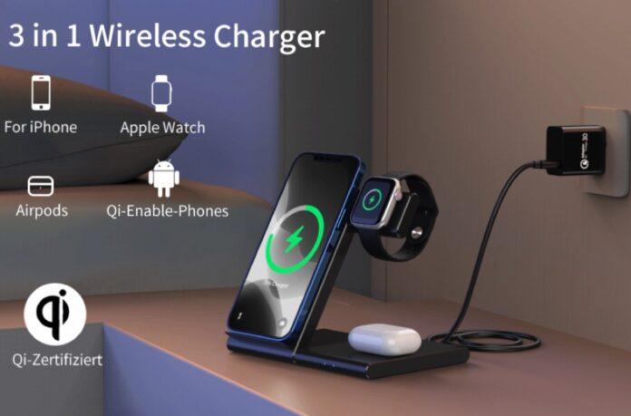 WATOE Wireless Charger 3 in 1