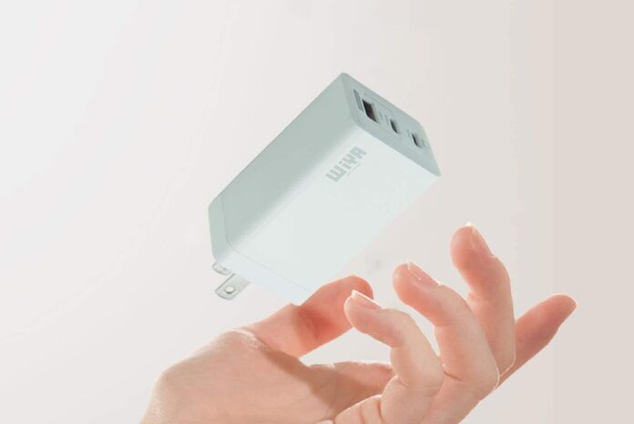 WiYA USB C Charger 65W 3 Port