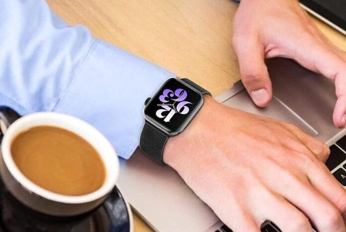 ZALAVER Metal Apple Watch Band