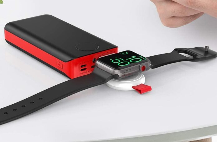 i.VALUX Portable Magnetic iWatch Wireless Charger
