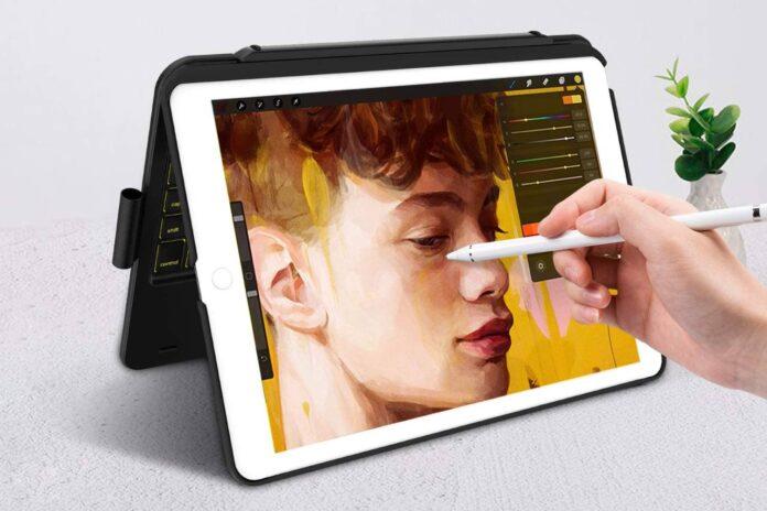 iPad Keyboard Case for iPad 8th Gen