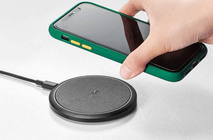 iSeneo 7.5W Qi Fast Wireless Charger