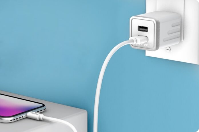 overtime Apple MFi Certified Lightning Cable with Dual USB Wall Charger