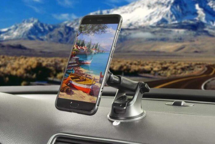 APPS2Car Universal Dashboard Car Phone Mount