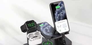 CEREECOO 4 in 1 Wireless Charging Station