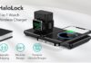 ESR HaloLock 2-in-1 Magnetic Wireless Charger