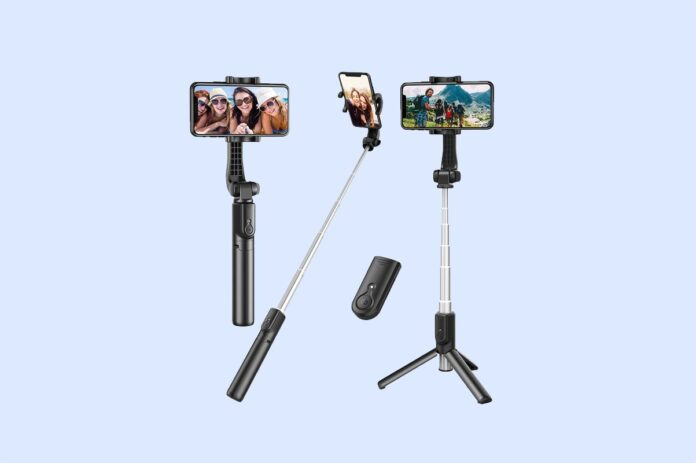 Erligpowht Extendable Selfie Stick with Wireless Remote
