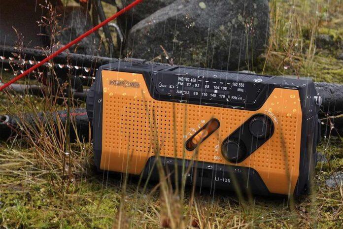 FosPower 2000mAh NOAA Emergency Weather Radio
