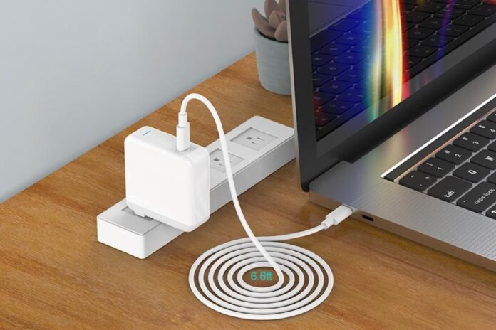 IFEART 61W USB-C Charger with 6.6ft USB-C Cable