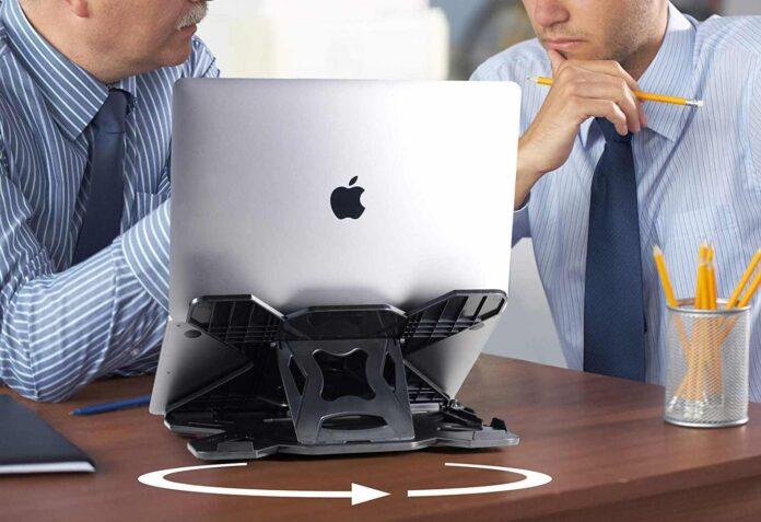 LIFELONG Adjustable Laptop Stand for Desk