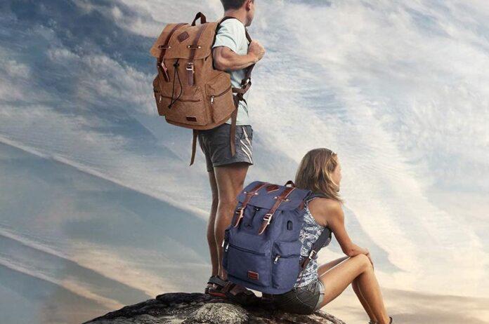 Modoker Vintage Rucksack Backpack