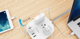 One Beat Power Strip 2 Pack