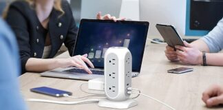 TESSAN Surge Protector with 11 Widely Spaced Outlets
