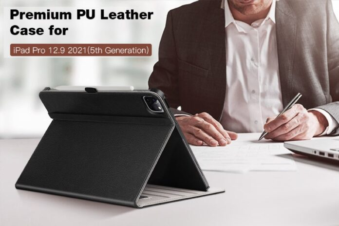 ZtotopCases Premium PU Leather Case for iPad Pro 12.9