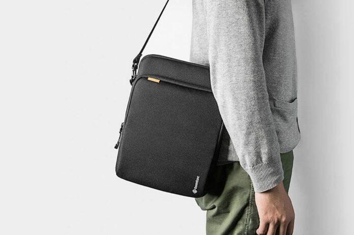 tomtoc Tablet Shoulder Bag