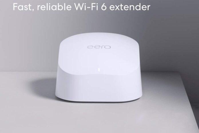 Amazon eero 6 dual-band mesh Wi-Fi 6 extender