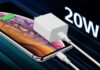 Amoner 20W USB C Wall Charger with 3FT USB C to Lightning Cable
