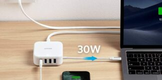 Anker USB C HDMI Hub with AC Adapter