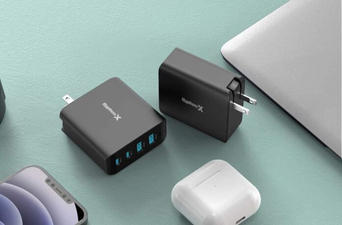 Hyphen-X 100W 4-Port GaN Fast Wall Charger