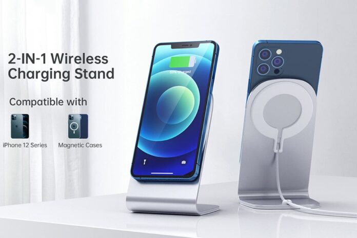 ICHOETECH Charging Stand with 20W PD USB C Wall Charger