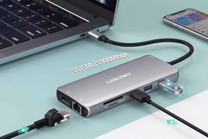 Lasuney USB C Docking Station