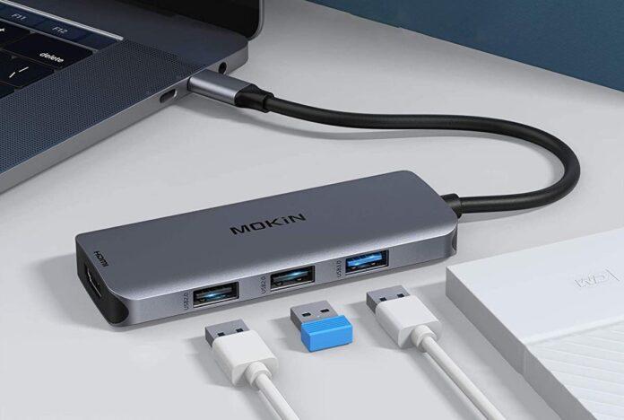 MoKin USB C to Dual HDMI Adapter
