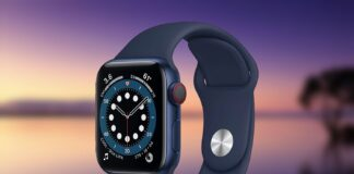New Apple Watch Series 6 (GPS + Cellular, 40mm)