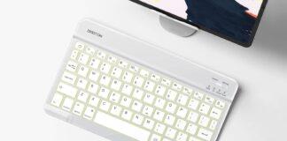 OMOTON Wireless Rechargeable Keyboard