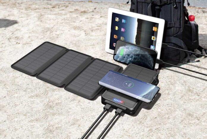 QiSa 35800mAh Solar Power Bank