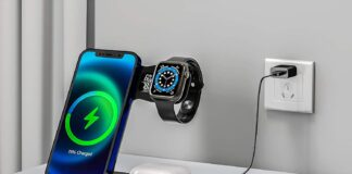 RELAXYO 3 in 1 Wireless Charger Stand