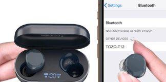 TOZO T12 Wireless Earbuds