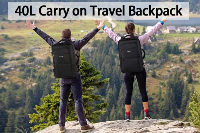 VANKROPAK Travel Backpack