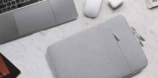 tomtoc Recycled Laptop Sleeve for 13inch MacBook