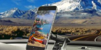 APPS2Car Universal Dashboard Phone Mount