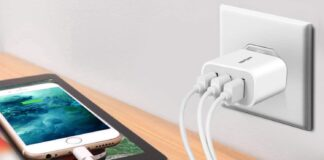 Amoner 15W 3-Port USB Charger