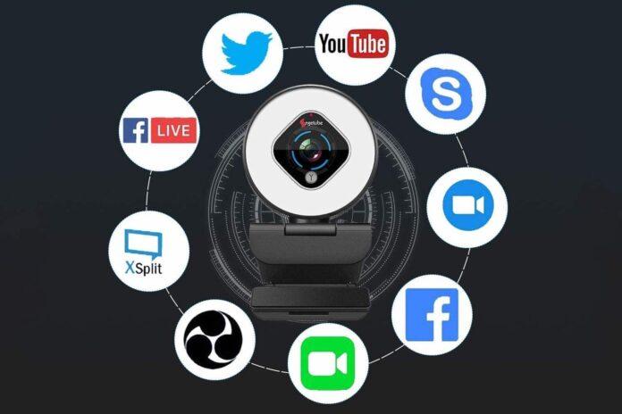 Angetube 1080P Autofocus Webcam