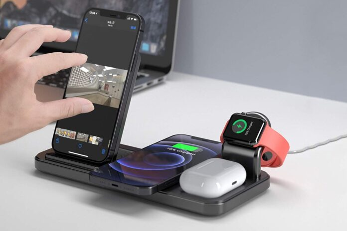 Coobetter 4 in 1 Wireless Charging Station