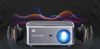 DBPOWER Native 1080P WiFi Projector