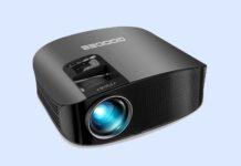 GooDee 2021 Upgrade HD Video Projector