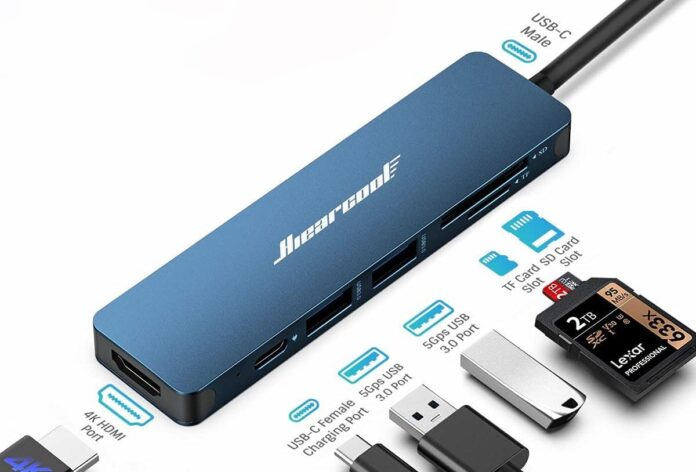 Hiearcool USB C Adapter