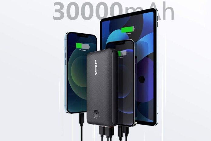 JIGA 30000mAh Portable Power Bank
