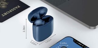 Lasuney IPX7 Waterproof Bluetooth Earbuds