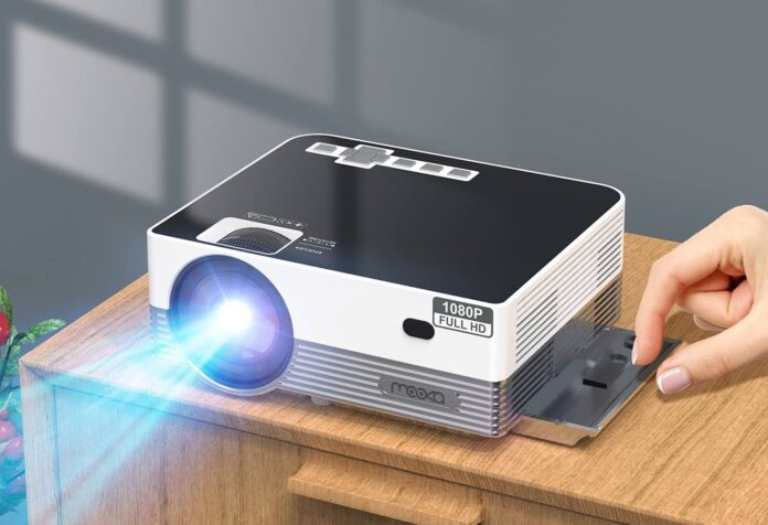 MOOKA Native 1080P WiFi Bluetooth Projector