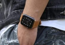 Marge Plus Apple Watch Leather Band